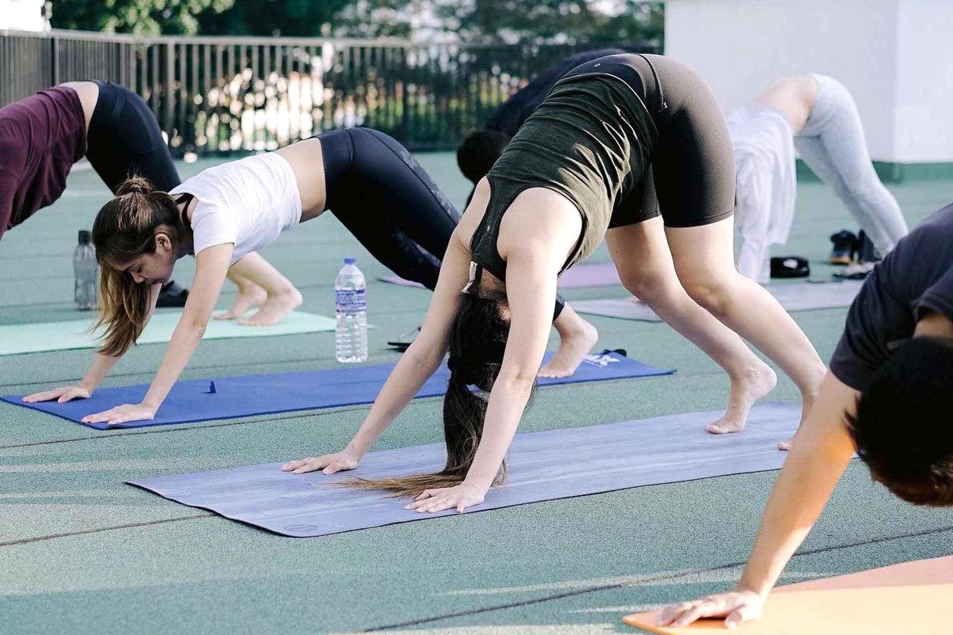kylie yoga 3
